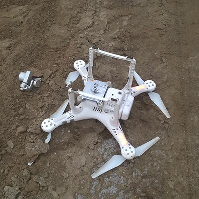 drone crash repair